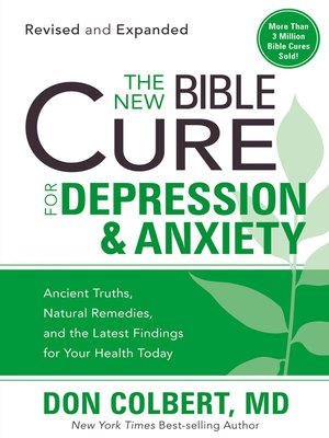 cover image of The New Bible Cure for Depression & Anxiety