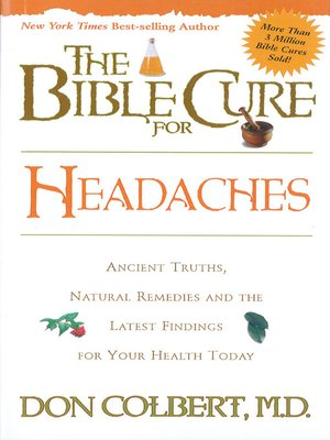 cover image of The Bible Cure for Headaches