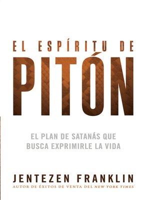 cover image of El espíritu de pitón