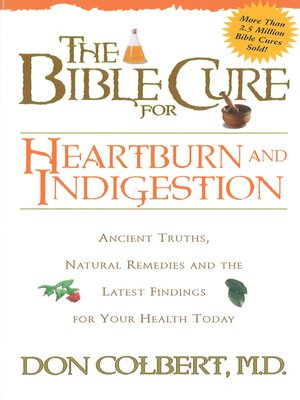 cover image of The Bible Cure for Heartburn