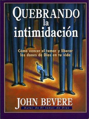 cover image of Quebrando la intimidación