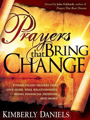 cover image of Prayers That Bring Change