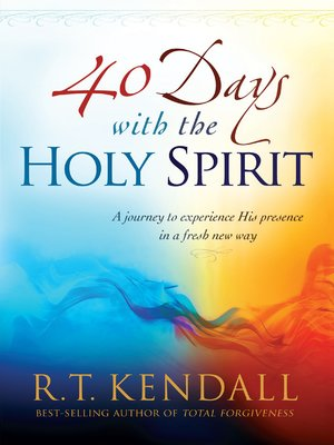 cover image of 40 Days With the Holy Spirit