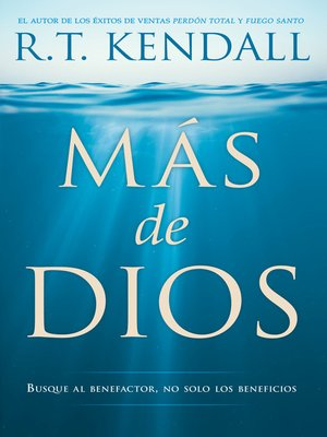 cover image of Más de Dios / More of God