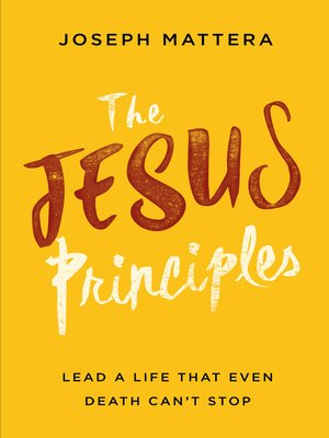 cover image of The Jesus Principles