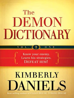 cover image of The Demon Dictionary, Volume One