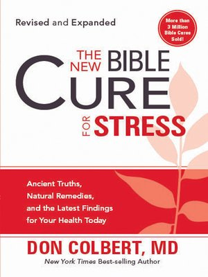 cover image of The New Bible Cure for Stress