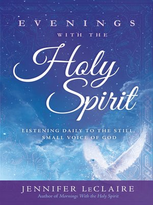 cover image of Evenings with the Holy Spirit