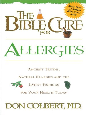 cover image of The Bible Cure for Allergies