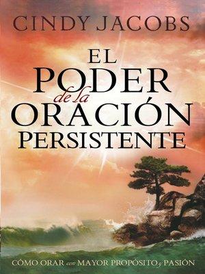 cover image of El Poder de la Oración Persistente