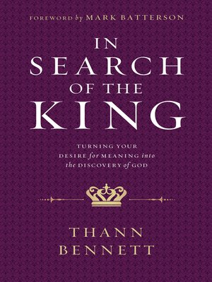 cover image of In Search of the King