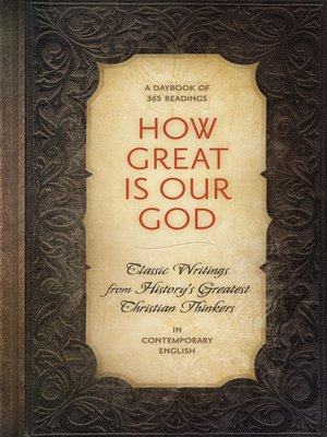 cover image of How Great is Our God