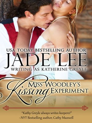 cover image of Miss Woodley's Kissing Experiment