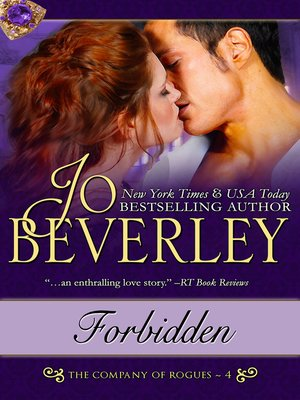 cover image of Forbidden (The Company of Rogues Series, Book 4)