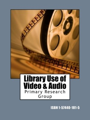 cover image of Library Use of Video & Audio