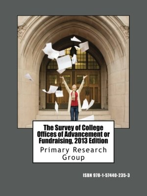 cover image of The Survey of College Offices of Advancement or Fundraising