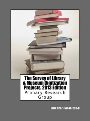cover image of The Survey of Library & Museum Digitization Projects