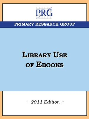 cover image of Library Use of E-books