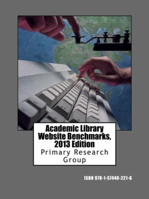 cover image of Academic Library Website Benchmarks