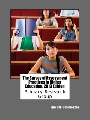 cover image of The Survey of Assessment Practices in Higher Education