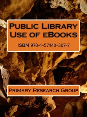 cover image of Public Library Use of eBooks