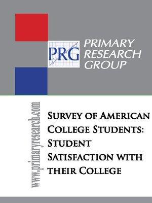 cover image of The Survey of American College Students
