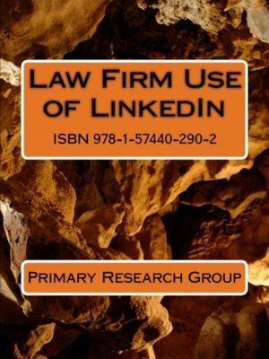 cover image of Law Firm Use of LinkedIn
