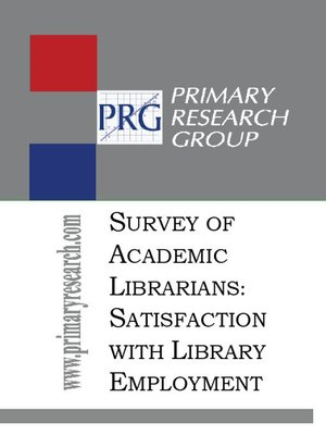 cover image of The Survey of Academic Librarians