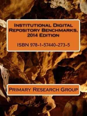 cover image of Institutional Digital Repository Benchmarks