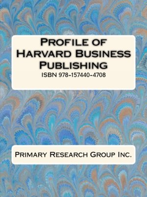 cover image of Profile of Harvard Business Publishing