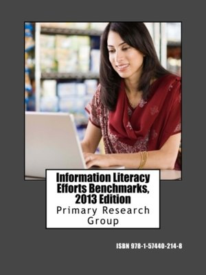 cover image of Information Literacy Efforts Benchmarks