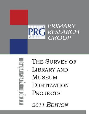 cover image of The Survey of Library and Museum Digitization Projects