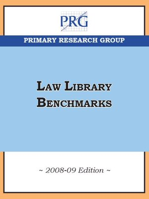 cover image of Law Library Benchmarks
