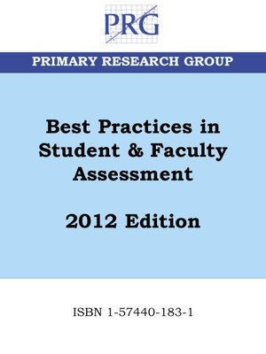 cover image of Best Practices in Student & Faculty Assessment