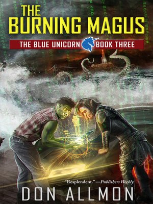 cover image of The Burning Magus