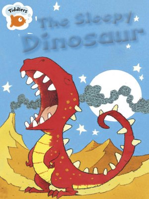 cover image of The Sleepy Dinosaur