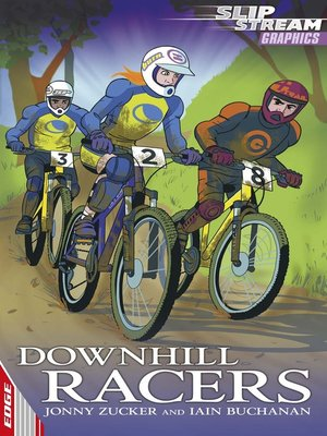 cover image of EDGE: Slipstream Graphic Fiction Level 2: Downhill Racers