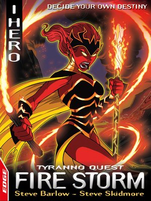 cover image of EDGE: I, Hero Quests: Fire Storm