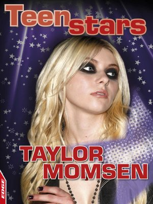 cover image of EDGE - Teen Stars: Taylor Momsen