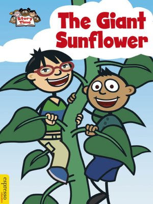 cover image of The Giant Sunflower