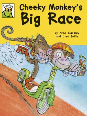 cover image of Cheeky Monkey's Big Race