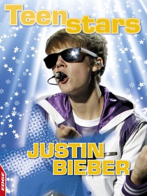 cover image of EDGE - Teen Stars: Justin Bieber