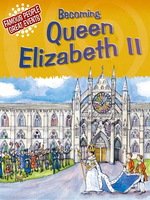 cover image of Becoming Queen Elizabeth II