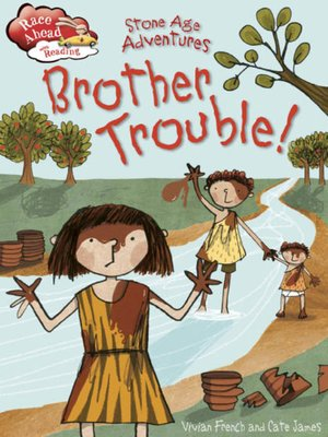 cover image of Stone Age Adventures: Brother Trouble