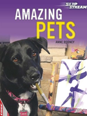 cover image of EDGE: Slipstream Non-Fiction Level 2: Amazing Pets