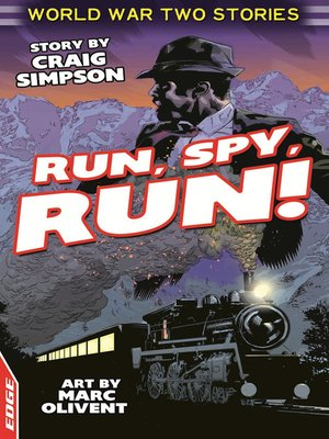 cover image of EDGE: World War Two Short Stories: Run, Spy, Run!