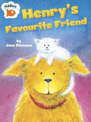 cover image of Henry's Favourite Friend