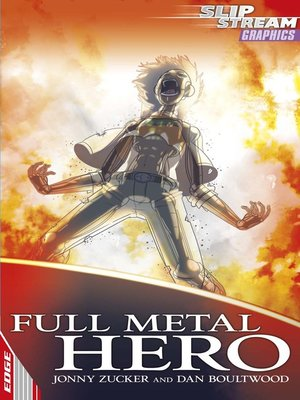 cover image of EDGE: Slipstream Graphic Fiction Level 2: Full Metal Hero