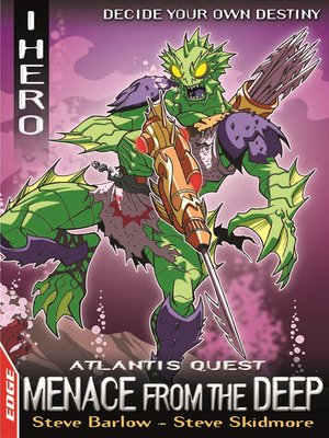 cover image of EDGE: I, Hero Quests: Atlantis Quest 1