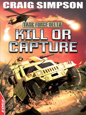 cover image of EDGE: Task Force Delta: Kill or Capture